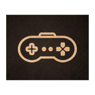 Game Controllers Pictogram Queork Photo Prints