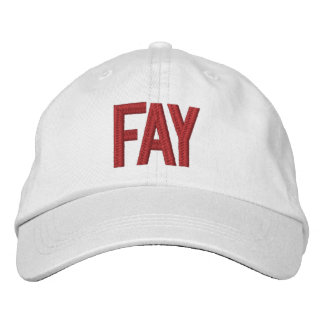 Game Day Ball Cap, Fayetteville Embroidered Hat