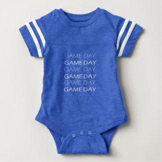 Game Day jersey, baby bodysuit, football Baby Bodysuit
