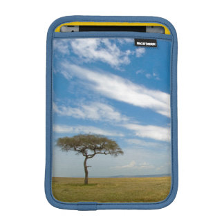 Game drive vehicle on open African plains iPad Mini Sleeve