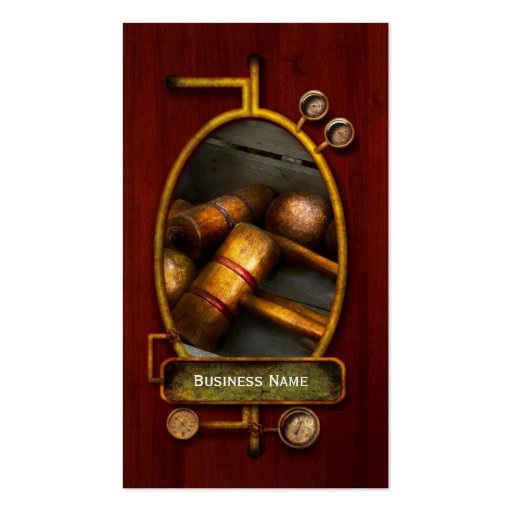 Game - Everyone loves to play Croquet Business Card Templates