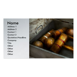 Game - Everyone loves to play Croquet Pack Of Standard Business Cards