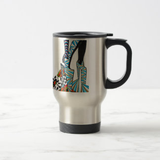 Game full shoes/Playful Shoes Stainless Steel Travel Mug