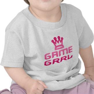 game grrl tshirts