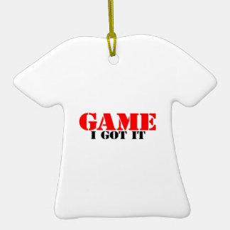 Game I Got It Ceramic T-Shirt Decoration