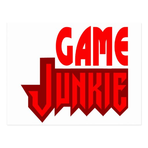 Game Junkie Post Card