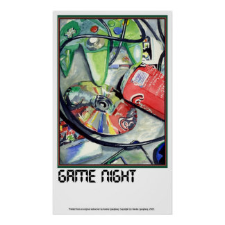 GAME NIGHT by Annika Poster