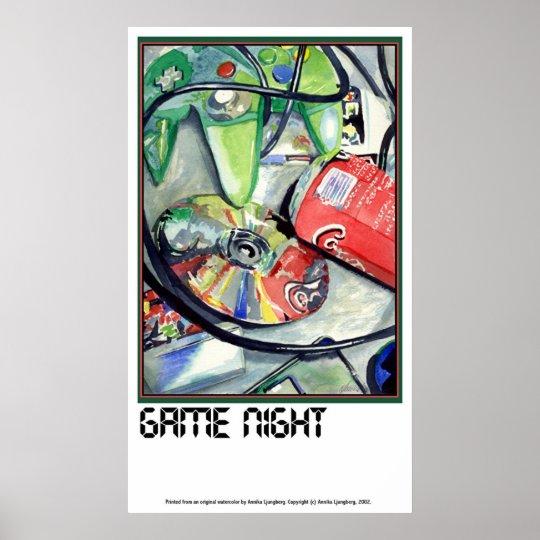 GAME NIGHT by Annika Poster