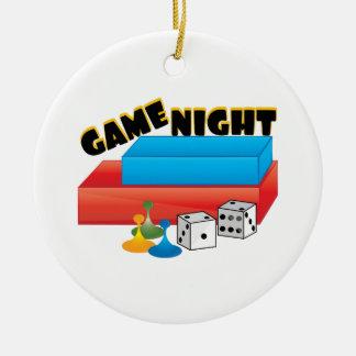 Game Night Christmas Ornament