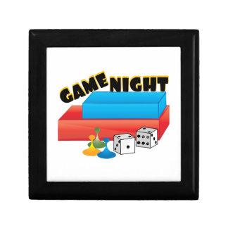 Game Night Small Square Gift Box