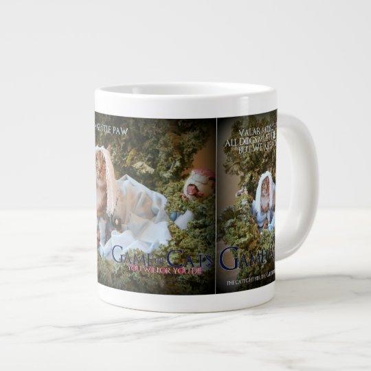 Game of Cats coffee mug