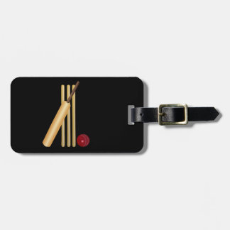 Game of Cricket Luggage Tag
