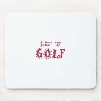 Game of Golf Mouse Pad