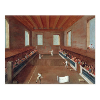 Game of Racquets Postcard