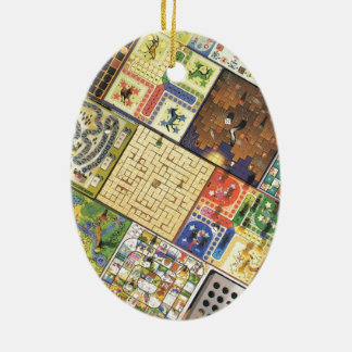 Game on!  Board games Christmas Ornament