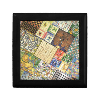 Game on!  Board games Small Square Gift Box