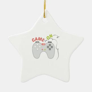Game On Ceramic Star Decoration