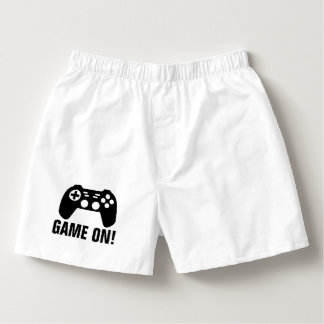 GAME ON funny boxer shorts underwear for men Boxers