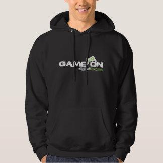 game on logo hoodie