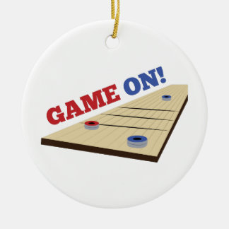 Game On! Round Ceramic Decoration