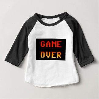 Game over 8bit retro baby T-Shirt
