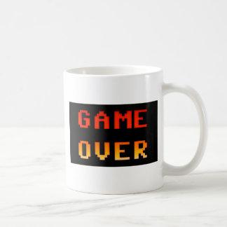 Game over 8bit retro coffee mug