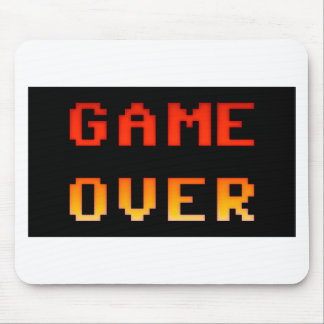 Game over 8bit retro mouse mat
