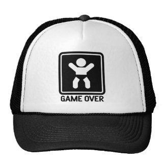 Game Over Baby Trucker Hat