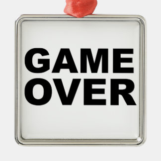 Game Over! Christmas Ornament