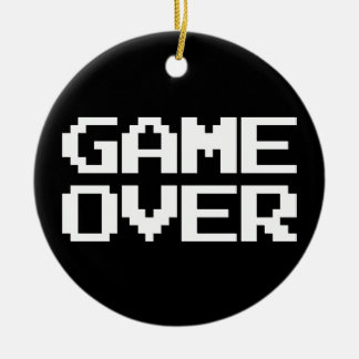 Game Over Christmas Ornament