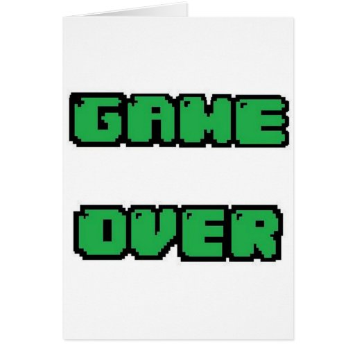 GAME OVER Collection Cards