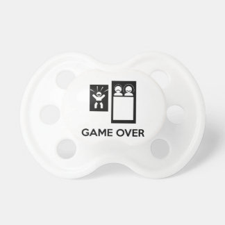 Game Over Daddy Baby Pacifier