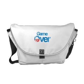 Game Over Faded.png Messenger Bags