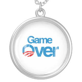 Game Over Faded png Necklaces