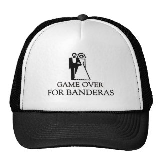 Game Over For Banderas Trucker Hat