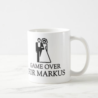 Game Over For Markus Coffee Mug
