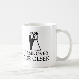 Game Over For Olsen Basic White Mug