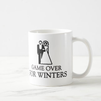 Game Over For Winters Coffee Mugs
