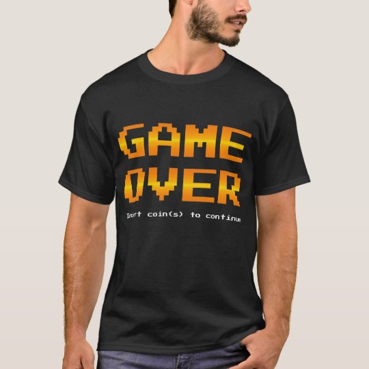 Game Over - Insert coin(s) to continue gamer