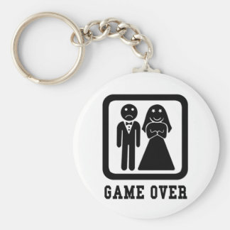 Game Over Keychains