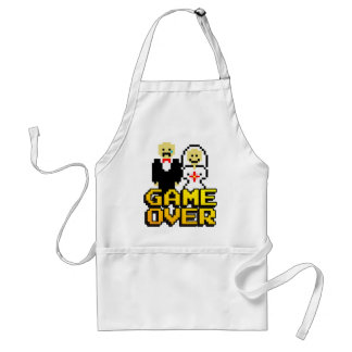 Game over marriage (8-bit) standard apron