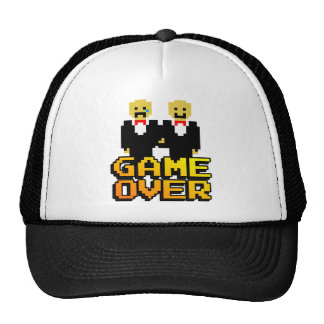 """Game Over"" Marriage (Gay, 8-bit) Cap"