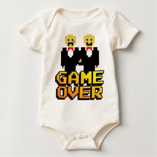"""Game Over"" Marriage (Gay, 8-bit) Bodysuit"
