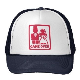 Game over - Marriage Trucker Hats