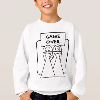 """""""Game Over"""" Marriage (Homosexual) Tshirt"""