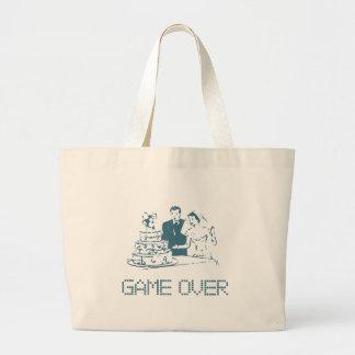 Game Over (Marriage) Jumbo Tote Bag