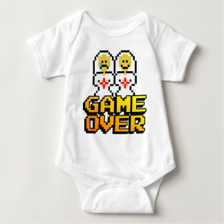Game Over Marriage (Lesbian, 8-bit) T Shirts