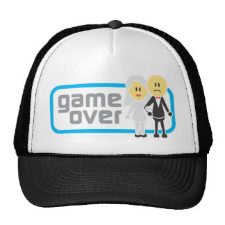 Game Over Marriage (Miis) Mesh Hat