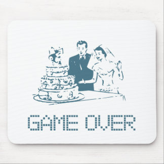 Game Over (Marriage) Mouse Pad
