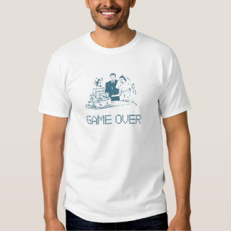 Game Over (Marriage) Tee Shirts